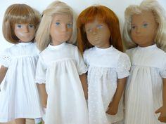 Sasha dolls in white!