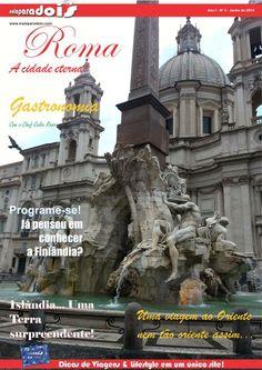 Roma, a cidade eterna! Acessem e baixem a revista malaparadois nº 3 grátis através do www.malaparadois.com ou http://issuu.com/malaparadois ****** Roma, la città eterna!  Accesso e abbassare il magazine malaparadois # 3 libero da www.malaparadois.com o http://issuu.com/malaparadois  #viagem # viajar #viajando #dicas #travel #trip #tips #cool #ferias #roma #rome #Viaggi #viaggiare #viaggi #consigli #viaggio #fresca #vacation #roma
