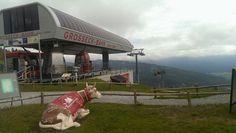 Die 8-MGD Anlage Grosseck Bahn.   Eine Anlage bei der Bergalm Speiereck, eine Anlage aus dem Jahr 2000.  #doppelmayr #seilbahn #austria
