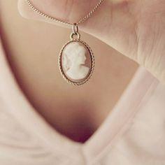 Cameo necklace <3