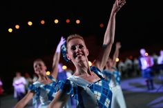 Highland dancers at 2015 Edinburgh Tattoo