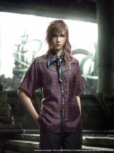 Lightning - Prada - Pictures & Characters Art - Final Fantasy XIII-2