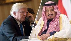 ٹرمپ اورشاہ سلمان دہشت گردی کے خلاف جنگ اور فوجی تعاون میں شراکت بڑھانے پر متفق