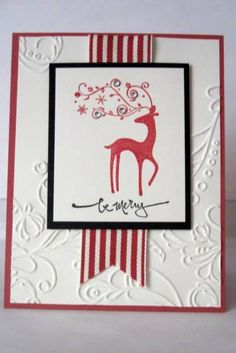 Dasher Christmas by KristaTracy - Cards and Paper Crafts at Splitcoaststampers