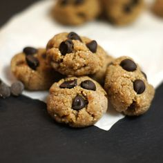 Plan to Eat - Raw Cookie Dough Bites (Vegan) - MarlaJ