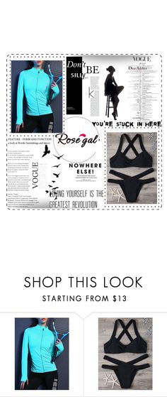 """""""Rosegal 45/60"""" by irma-hb ❤ liked on Polyvore featuring Christian Dior"""