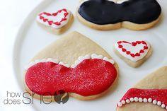 Valentine's Sugar Cookies!  Super sweet!