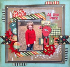 Be Different. Fancy Pants Designs. Kylie Hughes. MakeApage Scrapbooking 2014