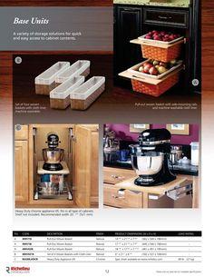 Catalog - Storage Accessories - page 12 - Richelieu Hardware