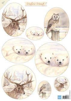 Mb0157 Mattie's Mooiste - Deer - Mattie de Bruine A4 - Marianne Design Knipvellen - Hobbynu.nl