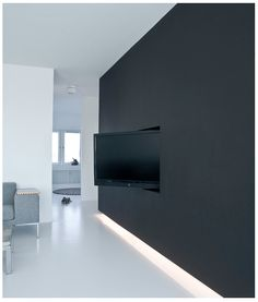 Love this idea for a rotating tv
