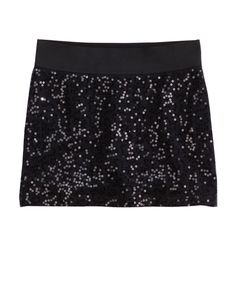 So fun for Liv | Girls Clothing | Skirts & Skorts | Sequin-front Skirt | Shop Justice