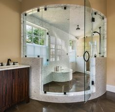 Stone Ridge traditional bathroom