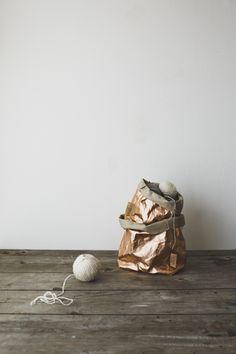 934d75a41f55 Metallic Rose Gold Uashmama Paper Bags Rose Gold Paper