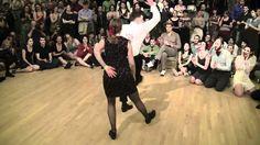 Reception FUNNNNN!!!!! 2012 Camp Jitterbug - Lindy Hop Couples Finals - Jam