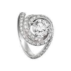 Sortija Solitaire - I do not know what that first word means, BUT, I DO KNOW, I MUST HAVE THAT RING! The ring is by Cartier.