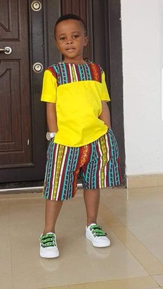 Baby African Clothes, African Dresses For Kids, African Attire For Men, African Clothing For Men, African Shirts, Dresses Kids Girl, African Wear, Kids Outfits, Children's Outfits