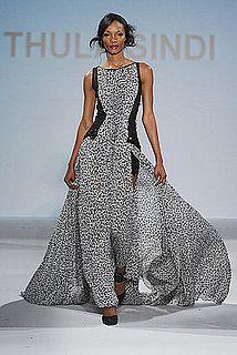 Global Fashion Show New York 2010 : Thula Sindi / South Africa