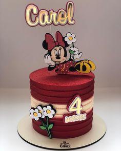 Bolo Mickey E Minnie, Rio Party, Mini Mouse, Buttercream Cake, Shower Cakes, Cake Designs, Cake Toppers, Wedding Cakes, Alice
