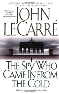 """'The Spy Who Came In from the Cold' by John le Carré (first published in 1963): Secret agent Alex Leamas is on a mission in Cold War East Berlin, but the disillusioned operative for British Intelligence is beginning to have doubts about the organization he serves. (Featured: Season Four, Episode 13, """"Tomorrowland"""")"""