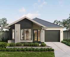 The Avoca home by Metricon is built with a contemporary kitchen, island bench and pantry storage. Check out the Avoca home design in Melbourne today. Contemporary House Plans, Modern House Design, Winchester Homes, Large Floor Plans, Delta House, Melbourne House, Storey Homes, Building A New Home, New Home Designs