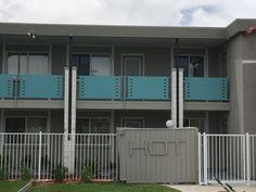 See DCS Pool gates at Scottsdale's El Dorado Hotel #poolgates