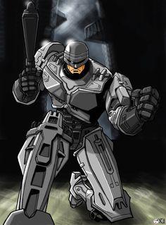 Robocop by ninjaink on @DeviantArt