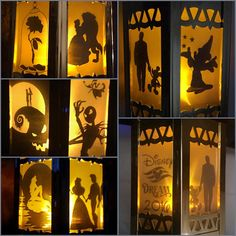 Disney Inspired Battery Operated Lanterns