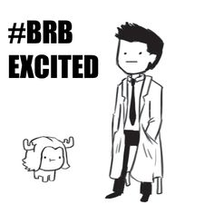 gif chibi cute supernatural castiel reaction gif i don't even sam moose brb excited