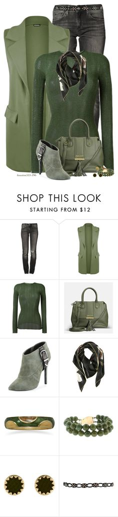 """""""Wear It! In Green"""" by houston555-396 ❤ liked on Polyvore featuring ESPRIT, WearAll, Gucci, Avenue, Charles David, Valentino, BillyTheTree, House of Harlow 1960 and WearIt"""