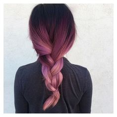 Hair black and red ombre hair Hair Styles Online: The Power You Always Wanted Article Body: Looking Black Hair Ombre, Ombre Hair Color, Hair Colors, Black To Purple Ombre, Light Purple, Pastel Hair, Pink Hair, Dyed Hair Purple, Violet Hair