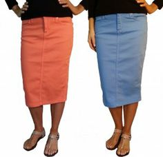 Kick Pleat modest skirt in colors CLICK THIS PIN if you want to learn how you can EARN MONEY while surfing on Pinterest