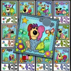 Raggy Dogs All Dressed Bumper Kit Hobbies And Crafts, Kit, Dogs, Cards, Pet Dogs, Doggies, Maps, Playing Cards
