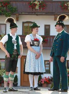 Die Tracht :: Chiemgau Alpenverband