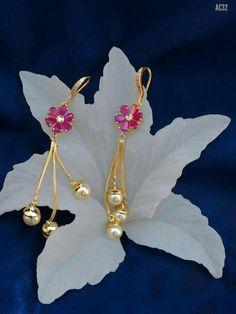 How Sell Gold Jewelry Jewelry Design Earrings, Gold Earrings Designs, Ear Jewelry, Necklace Designs, Beaded Jewelry, Jewelery, Gold Jewelry, Kids Earrings, Urban Jewelry