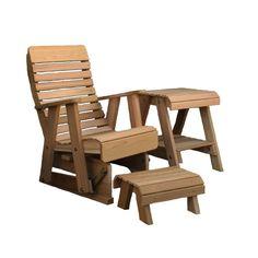 Creekvine Designs, Cedar Twin Ponds Rocking Glider Chair Set