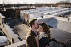 EDEN INGLE PHOTO   Nashville wedding photographer   Downtown Franklin rooftop engagement session