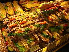 PAUL's sandwich Deli Cafe, Cafe Menu, Cafe Food, Sandwich Bar, Sandwich Shops, Food To Go, Good Food, Food And Drink, Gastronomia