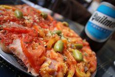 Argentine Pizza w/Beer