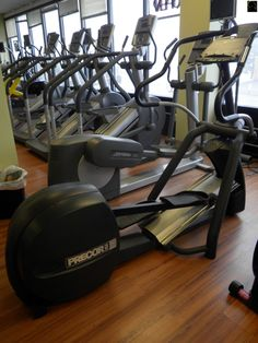 Cross Trainer PRECOR EFX546 sold for $760.00! Cross Trainer, Stationary, Trainers, Gym Equipment, Bike, Fitness, Tennis, Bicycle, Workout Equipment