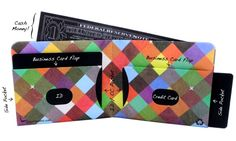 Intraligi Tyvek Wallet - Paperwallet Artist Edition - only $19.95 #karmakiss #unique #gifts #wallet