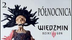 TUTORIAL Północnica Wiedźmin 3 głowa, włosy /The Witcher III - Nightwraith polymer clay Part 2