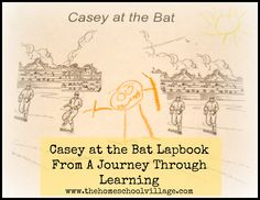 Casey at the Bat Lapbook Review from A Journey Through Learning