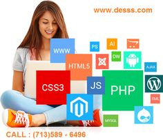 Website Design and Development Company  Are you an #retail store looking for website design, #software development, #CMS? Get a professional #ecommerce #website for online product sale. #Affordable website solution company in #Houston.  Send your #quote now!!! or Call (713)589-6496  http://www.desss.com