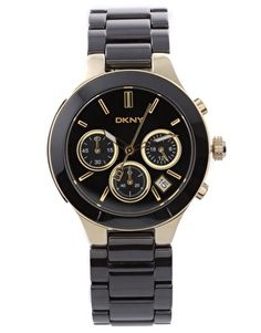 Enlarge DKNY Black Bracelet Watch - sold out but still love it