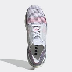 best service e3e8f acfe9 Adidas Ultra Boost 2019 White and Multi color Primeknit 360
