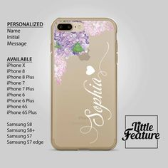 Personalized iPhone Case / Name iphone case / Initial iphone case / personalised Samsung Galaxy phone case Available for iPhone X , iPhone 8 , iPhone 8 plus , iPhone 7 , iPhone 7 plus , iPhone 6 , Samsung Galaxy S8 , S8+ , S7 , S7 Edge by LittleFeature at ETSY Phone Cases Samsung Galaxy, Iphone 8 Plus, Iphone 7, Iphone Cases, Personalized Phone Cases, S7 Edge, Galaxy S8, 6s Plus