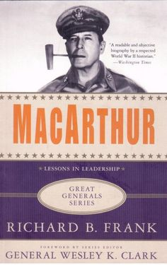 Macarthur - Lessons in Leadership - Great Generals Series  - Paperback - S/Hand