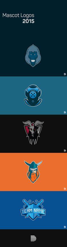 Mascot Logos of 2015 on Behance