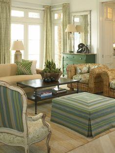 Calm coastal color. Harrison Design Associates Projects